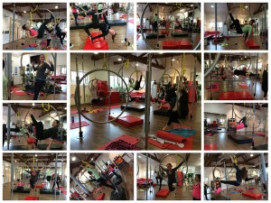 Workshop Aerial Hoop Januar 2015, Polepower